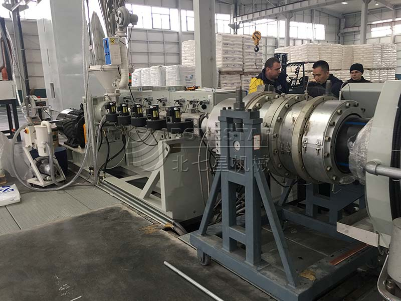 16-2000mm PE pipe extrusion line-1