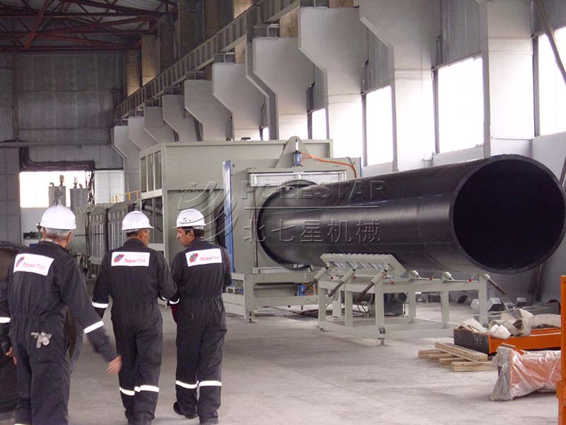 16-2000mm PE pipe extrusion line-3