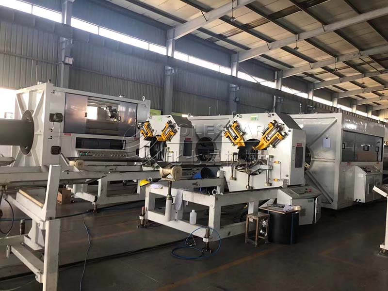 16-2000mm PE pipe extrusion line-4