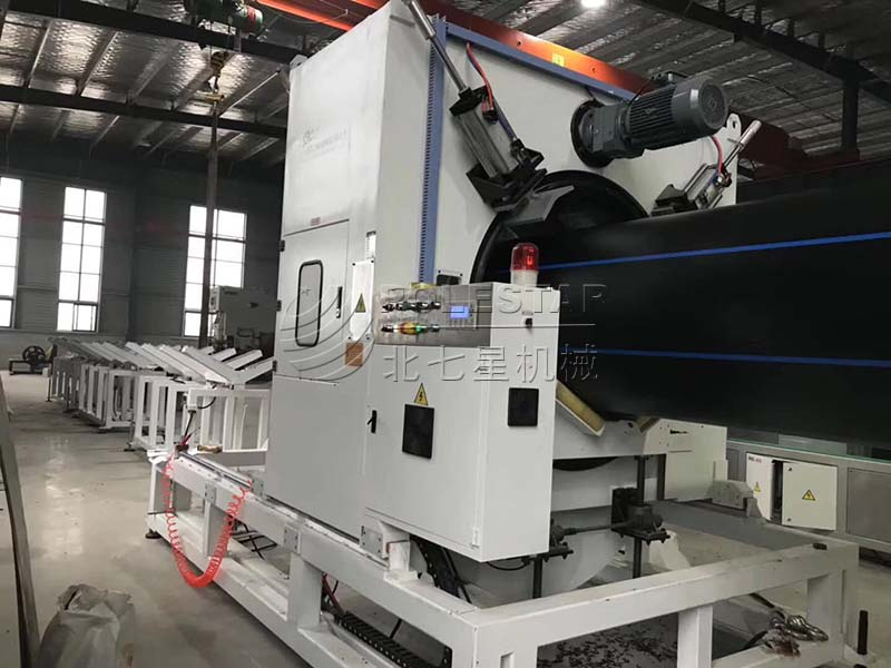 16-2000mm PE pipe extrusion line-5