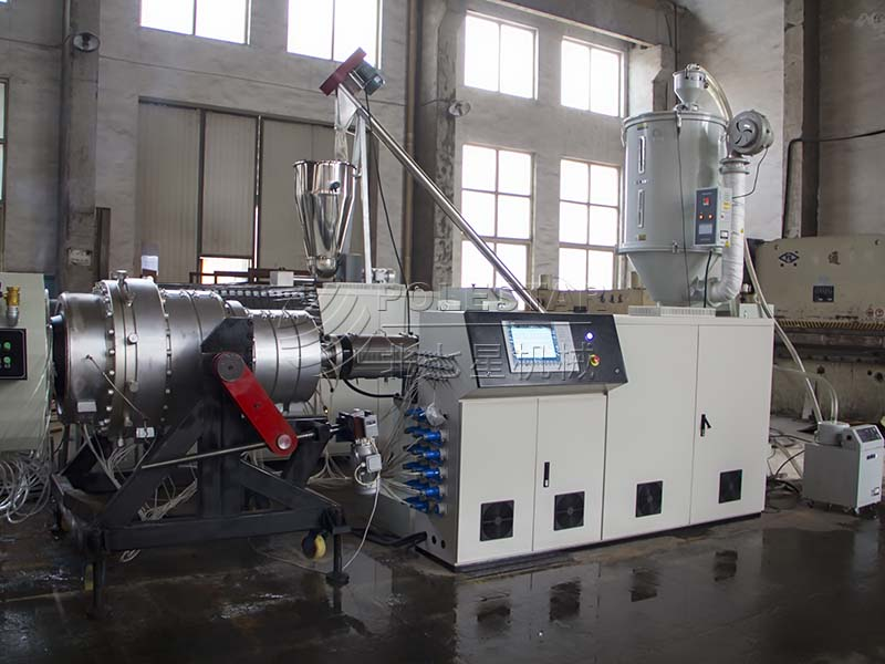 16-2000mm PE pipe extrusion line-7