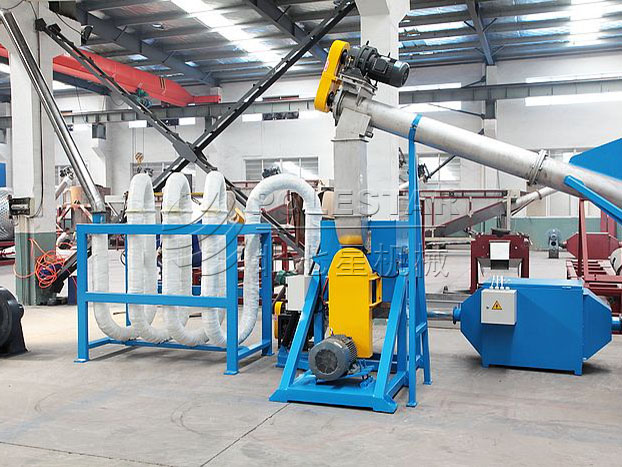 Hot air spiral pipe dryer-2