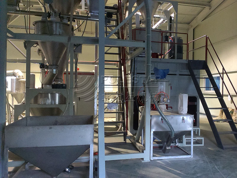 PVC WPC automatic Weighing & Mixing System-2